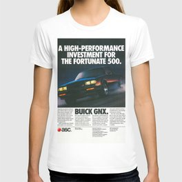 Grand National GNX Investment for Fortunate 500 Vintage Ad T-shirt