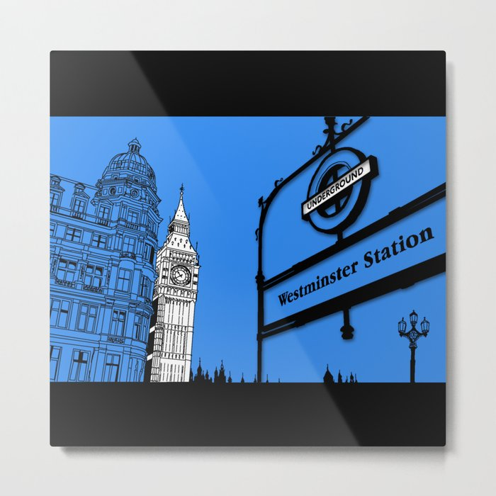 lonDRes cAPitale Metal Print