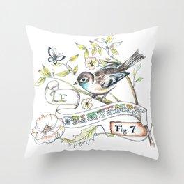 Le Printemps Throw Pillow