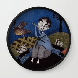 Henry and Adele Wall Clock