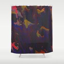 Walls Have Ears Shower Curtain