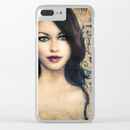 Quiet Heart Clear iPhone Case