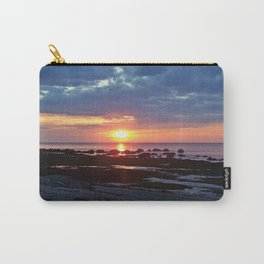 Sunset under Stormy Skies Carry-All Pouch