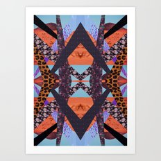 VISIONARY ENERGY Art Print