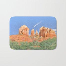Cathedral Rock - Sedona, AZ Bath Mat
