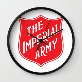 The Imperial Army Wall Clock