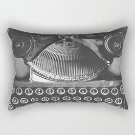 Vintage Typewriter - Before Email Rectangular Pillow