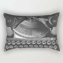 Vintage Typewriter - Before Email Rectangular Pillow