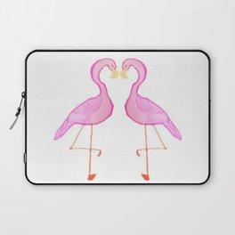 Two Flamingos Laptop Sleeve