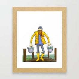 Buckets Framed Art Print