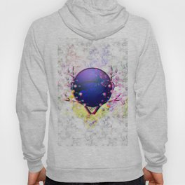 Cherry blossom with purple moon Hoody