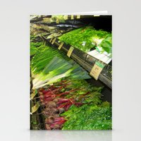 vegetables Stationery Cards featuring Fresh Vegetables by Chris' Landscape Images & Designs