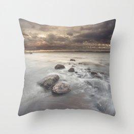 Distress signal Throw Pillow