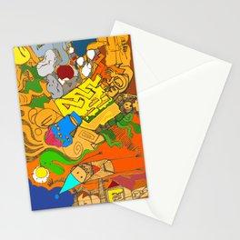 Enveloped Doodle Stationery Cards