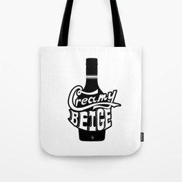 Creamy Beige Tote Bag