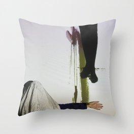 DropArt & Shirly @BYOB TelAviv #04 Throw Pillow