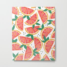 Citrus Surprise #society6 #decor #buyart Metal Print
