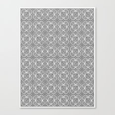 Downtown Doodler: Temple Court Archi-doodle Canvas Print