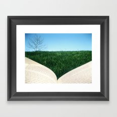 reading 3 Framed Art Print