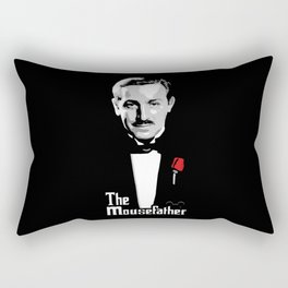 Walt E.Disney, The Mousefather Rectangular Pillow
