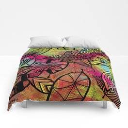 Crazy Leaves  Comforters