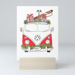 Merry Roadtrip Mini Art Print