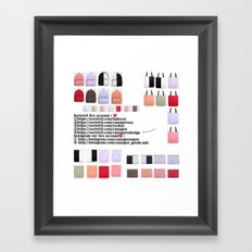 New account-186 Framed Art Print