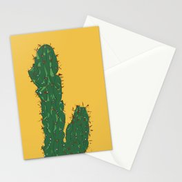 Cactus in Mexico City Illustrated Stationery Cards