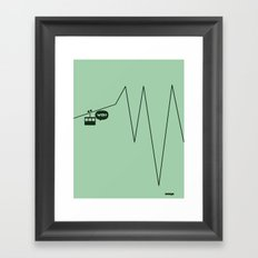 WTF? Riel! Framed Art Print