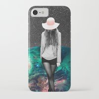 alone iPhone & iPod Cases featuring Alone by Cs025