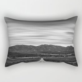 """""""At The End Of The Road"""" Rectangular Pillow"""