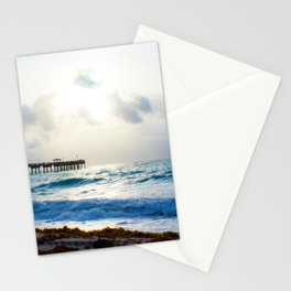 Sunrise At The Pier Stationery Cards