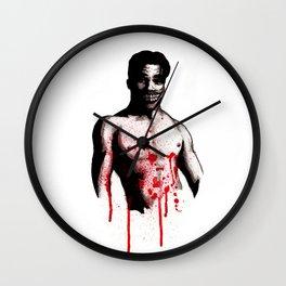 Bloody Mott Clown Wall Clock