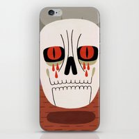 fear iPhone & iPod Skins featuring Fear by Jack Teagle