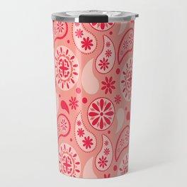 Bohemian Dream in Pink Travel Mug