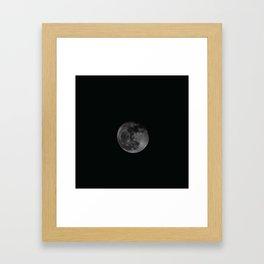 Moon4 Framed Art Print