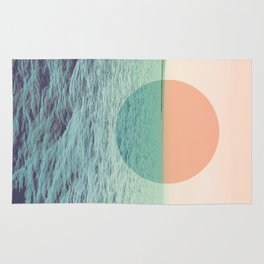 Because the ocean Rug