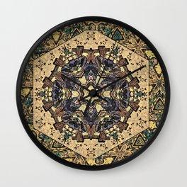 Garden Trellis Wall Clock
