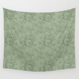 The Night Gardener - Endpapers Wall Tapestry