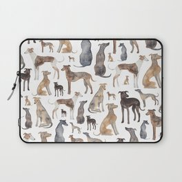 Greyhounds and Whippets Laptop Sleeve
