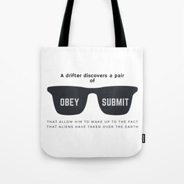 They Live Tote Bag