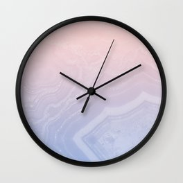 Faded Agate Royal Stain Wall Clock