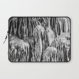 No Snow! But Structures In Dripstone Cave. Laptop Sleeve