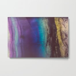 Bohemian Blue Earth Metal Print