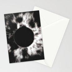 Black Sun Stationery Cards