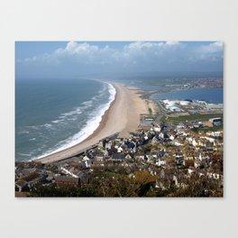 Chesil Beach, Dorset Canvas Print
