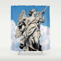 rome Shower Curtains featuring Rome by amdiamond