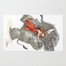 Elephant Hug Rug