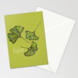 ginkgophyta Stationery Cards
