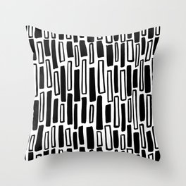 Raintangle Throw Pillow